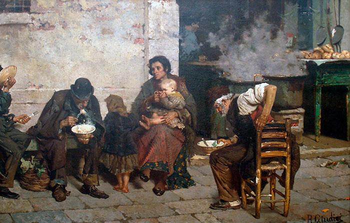 La sopa de los pobres