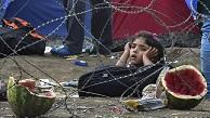 Cientos-refugiados