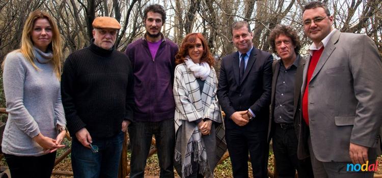 Entrevista de medios internacionales con CFK