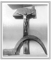 Crucifijo de Luis Espinal