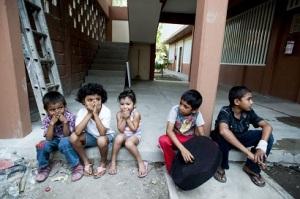 Niños centroamericanos en un albergue de ACNUR en México _ foto Sebastian Rich_ACNUR