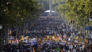 Manifestacion contra atentados