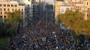 Cataluña 3 de octubre Vista