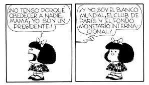 Mafalda Soy Banco Mundial