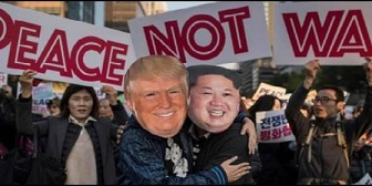 Corea Trump