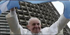 Papa Bandera Argentina
