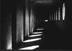 Coronda 1 pasillo con luces pgc