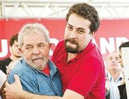 Guilherme Boulos et Lula foto Telesur
