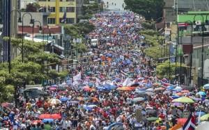 C Rica Protesta