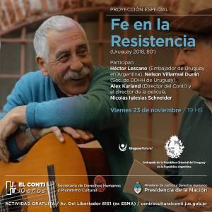 Fe en la resistencia en Argentina